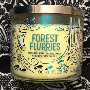 🌳 Bbw forest flurries candle